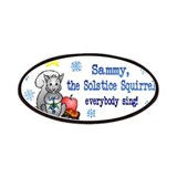 Sammy Squirrel Patches