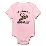 Baseball Grandpa Infant Bodysuit