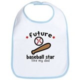 Baseball Dad Bib