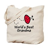 Grandma Ladybug Tote Bag