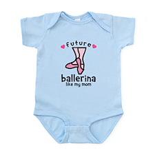 Ballerina Mom Infant Bodysuit