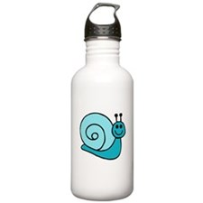 Blue Snail Water Bottle