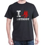 I run Detroit T-Shirt