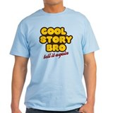 Cool Story Bro (orange) T-Shirt