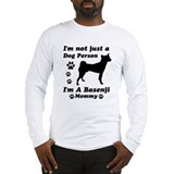 Basenji mommy Long Sleeve T-Shirt