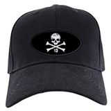 Cute Skull crossbones Baseball Hat