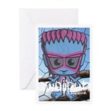 New Wave Mascot Photo Greeting Card