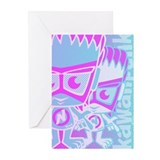 New Wave Mascot HT Greeting Cards (10 Pack)