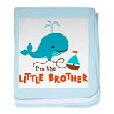 Little brother Baby Blankets