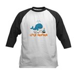 Little Brother - Mod Whale Kids Baseball Jersey