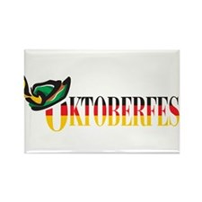 Oktoberfest Rectangle Magnet (100 pack)