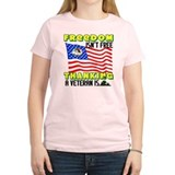 &amp;quot;Freedom Isn't Free!&amp;quot; Women's Color T-Sh