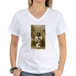 Geronimo (image only) Women's V-Neck T-Shirt