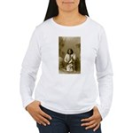 Geronimo (image only) Women's Long Sleeve T-Shirt