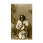 Geronimo (image only) Sticker (Rectangle)