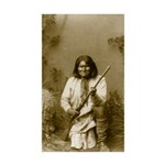 Geronimo (image only) Sticker (Rectangle 10 pk)