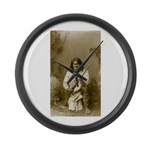 Geronimo (image only) Large Wall Clock