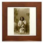 Geronimo (image only) Framed Tile