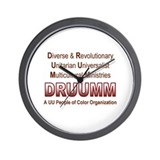 DRUUMM Wall Clock