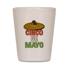 Cinco De Mayo Shot Glass
