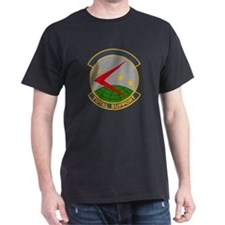 439th Logistics Support Black T-Shirt
