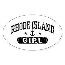 Rhode Island Girl Decal