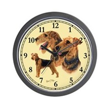 Airedale Terrier Wall Clock