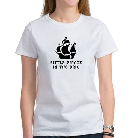 Little Pirate in the Brig Women's T-Shirt