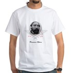 Riemann Sphere White T-Shirt