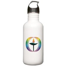 UU Rainbow Logo Water Bottle