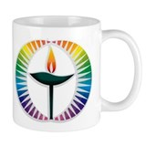 UU Rainbow Logo Small Mugs