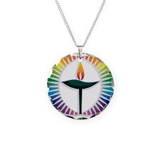 UU Rainbow Logo Necklace