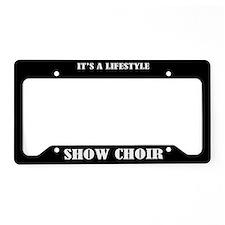 Show Choir License Plate Holder Frame