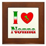 I Love Nonna Framed Tile