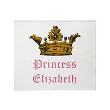 Princess Elizabeth Throw Blanket