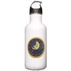 THE LADY IN THE MOON Water Bottle