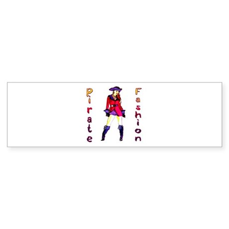 Pirate Fashion Sticker (Bumper)