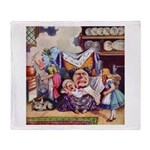 ALICE & THE DUCHESS Throw Blanket