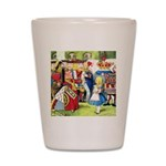 ALICE & THE QUEEN OF HEARTS Shot Glass