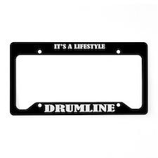 Drumline Music Lifestyle License Plate Holder