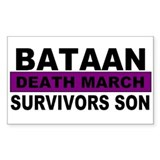 Bataan Death March Survivors Son | Decal