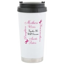 Together We Will Overcome Ceramic Travel Mug