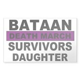 Bataan Death March Survivors Daughter | Decal