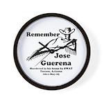 Remember Jose Wall Clock