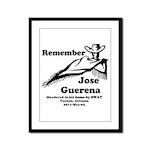 Remember Jose Framed Panel Print