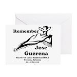 Remember Jose Greeting Cards (Pk of 20)