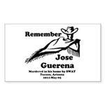 Remember Jose Sticker (Rectangle)
