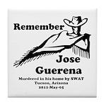 Remember Jose Tile Coaster