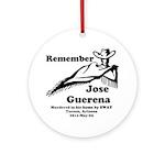 Remember Jose Ornament (Round)
