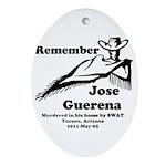Remember Jose Ornament (Oval)